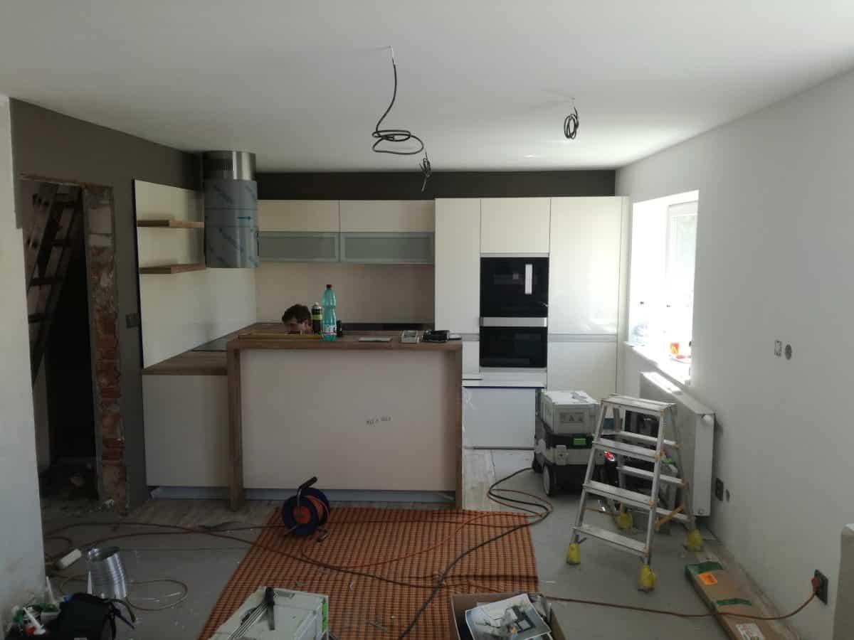 Přestavba kuchyně 1