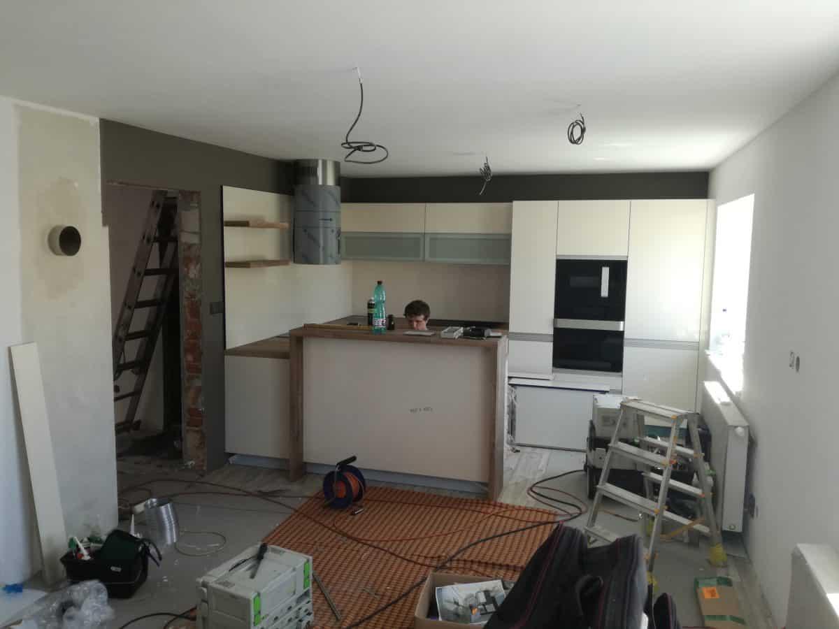 Přestavba kuchyně 2