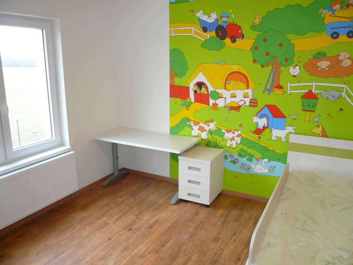 Prostorný dětský pokoj 3