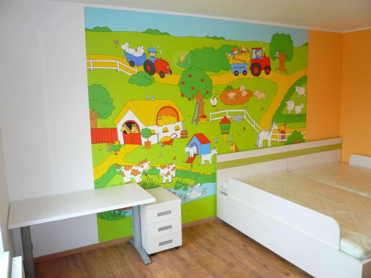 Prostorný dětský pokoj 5