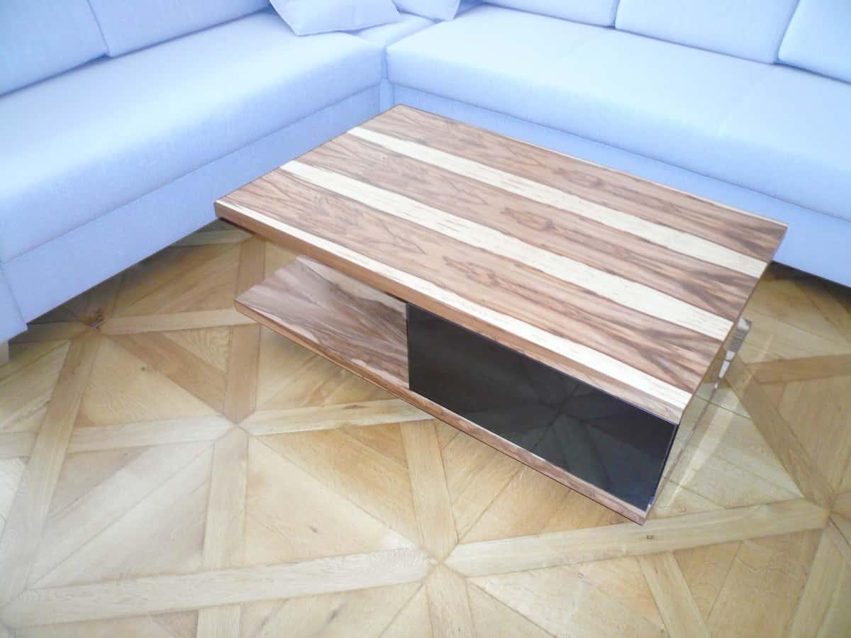 Obývací pokoj - televizní stěna a stolek 6
