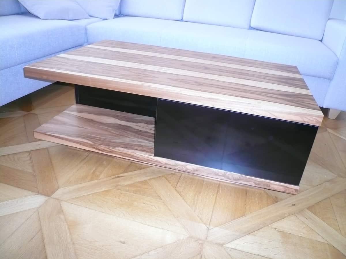 Obývací pokoj - televizní stěna a stolek 7